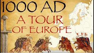1000 AD - A Tour of Europe / Medieval History Documentary