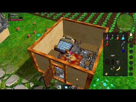 Java 3D Game Development 80: Houses & Mining!
