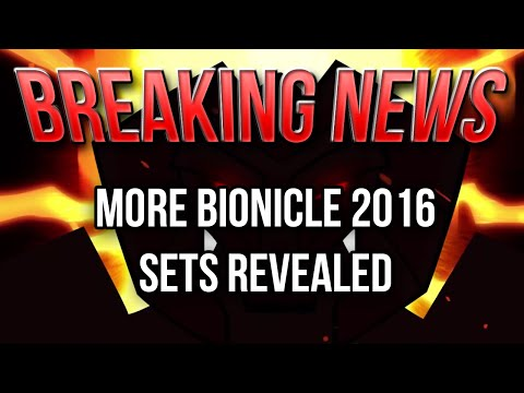 BREAKING NEWS: More BIONICLE 2016 Set Names Discovered