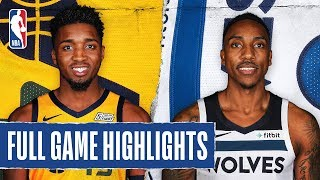 JAZZ at TIMBERWOLVES | FULL GAME HIGHLIGHTS | December 11, 2019