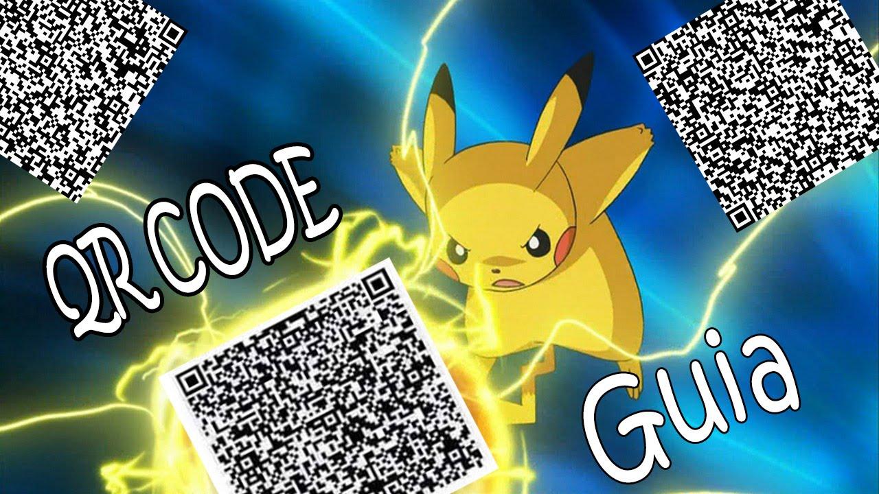 qr Codes Pokemon Pokemon Oras qr Codes Inyectar