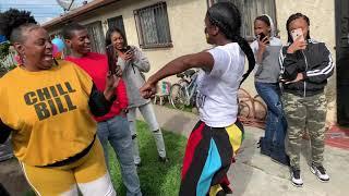 CLOWN DANCERS IN SOUTH CENTRAL LA l TOMMY THE CLOWN