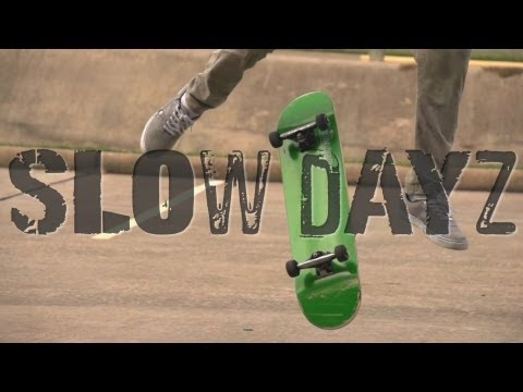 Slow Dayz : Insane SloMo Skateboarding (480FPS) (Jason Bastian)