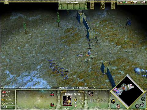 Age of Mythology the Titans Gameplay mission 1