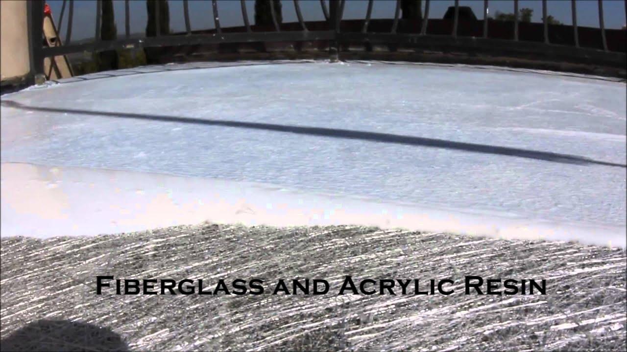 Deck Waterproofing Level Four Fiberglass Youtube