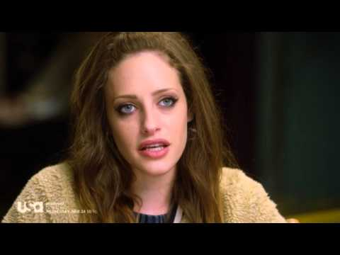 Mr. Robot Behind-the-Scenes with Carly Chaikin