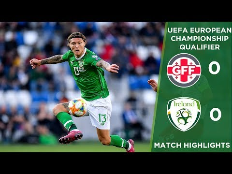 HIGHLIGHTS | Georgia 0-0 Ireland - UEFA European Championship Qualifier