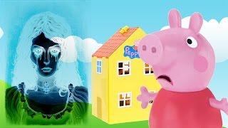 Свинка Пеппа вызвала ПРИЗРАК МЭРИ Мультфильм Peppa Pig