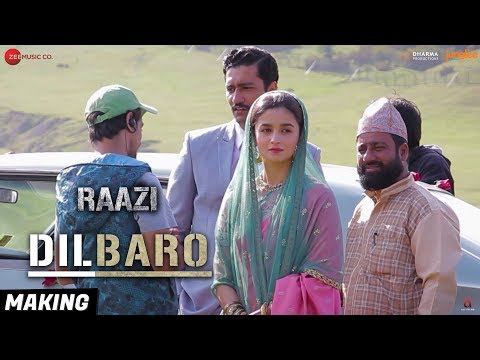 Download Lagu  Dilbaro - Making | Raazi | Alia Bhatt | Harshdeep Kaur, Vibha Saraf & Shankar Mahadevan Mp3 Free