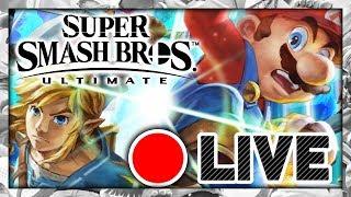 🔴 SUPER SMASH BROS ULTIMATE EN LIVE - MATCH EN LIGNE !