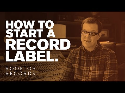 How To Start A Record Label // Rooftop Records