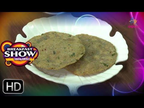 Pesara Pappu Poorilu | Breakfast Show | 1st November 2018 | ETV Abhiruchi