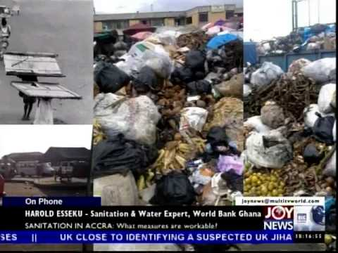 Sanitation in Accra - Today's Big Story on Joy News (25-8-14)