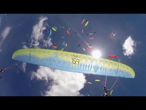 Never Come Down - Paragliding
