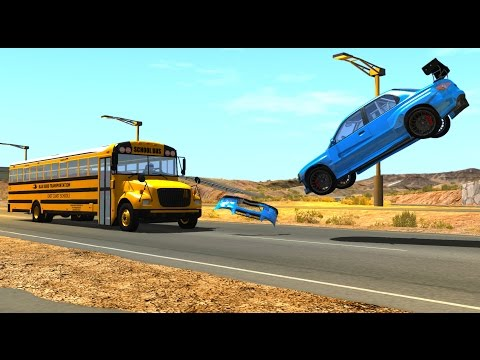 BeamNG DRIVE Random Vehicles Crash Testing Part 5