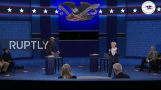 "USA: ""Russia is killing ISIS"" says Trump during presidential debate"