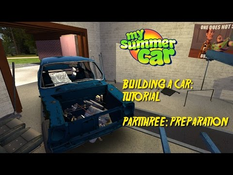 HOW TO BUI... RAGE QUIT! #3 | My Summer Car Tutorial/Playthrough