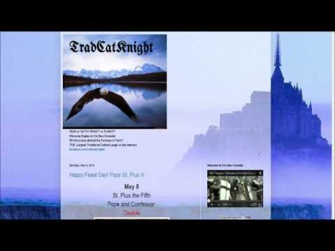 "TradCatKnight Radio, ""The Apostasy of Vatican II, New Humanism"""