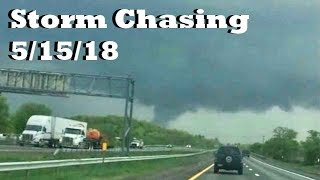 New England Storm Chasing: May 15th, 2018 (Connecticut Tornadoes)