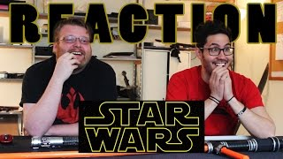 Star Wars The Force Awakens Trailer 2 REACTION!!!