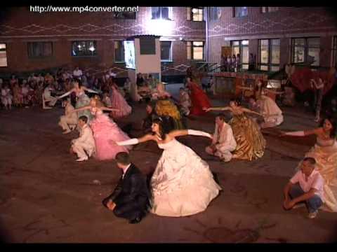 Прощальный танец выпускной 2008 год.