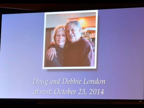 Memorial service for Doug and Debbie London