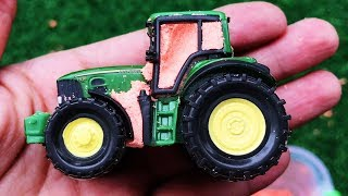 Construction Vehicles Toys for kids - Learn Name Tractor, Wheel Loader, Excavator for Children