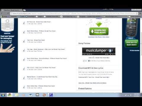 How To Download Free Songs Without A Software video