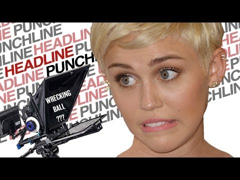 Headline Punchline: Miley Cyrus Loves Her Teleprompter | DAILY REHASH | Ora TV