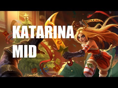 League Of Legends - Slay Belle Katarina Mid - Full Game Commentary video