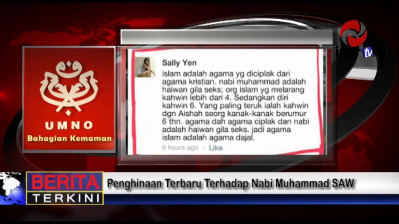 Penghinaan Terhadap Nabi Muhammad Terhadap Nabi Muhammad Saw