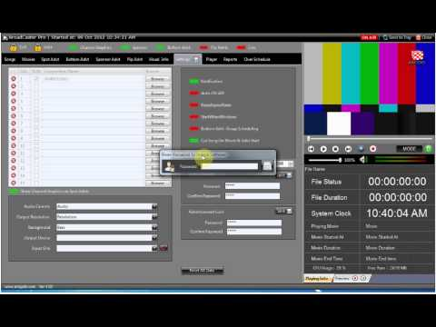 Amigo - Cable TV Broadcast Automation Software - Playout Automation Software for Decklink Cards