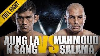 "ONE: Full Fight | Aung La N Sang vs. Mahmoud Salama | ""The Burmese Python"" wins by KO | Jun 2014"