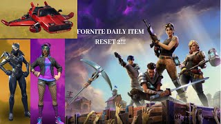 Fortnite Daily Item Reset #2 10/23/18 OBVILION AND SYTH STAR IS BACK!?!?!?