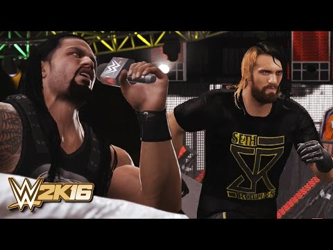 WWE 2K16 - Seth Rollins Returns 2016 & The Shield Reunite