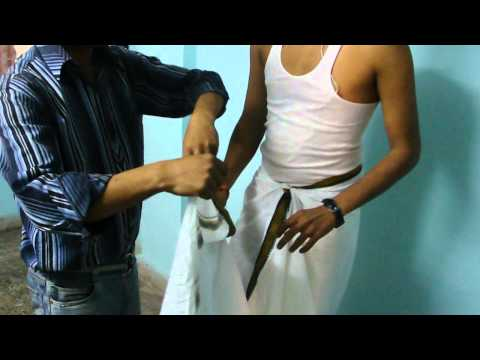 How To Wear Dhoti 2 Styles video