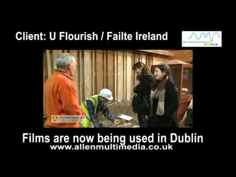 Hospitality training videos for Failte Ireland