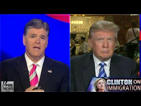 Donald Trump - Jeb Bush is a Joke Hillary Clinton Weak on Immigration Mexico Sends Their Criminals