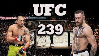 EA Sports UFC Universe Mode - UFC 239 Jose Aldo VS Conor Mcgregor