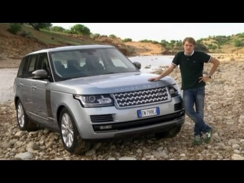 Range Rover 2013, тест-драйв