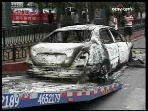 Xinjiang Urumqi Riots Updates - CCTV 3AM 07Jul 09