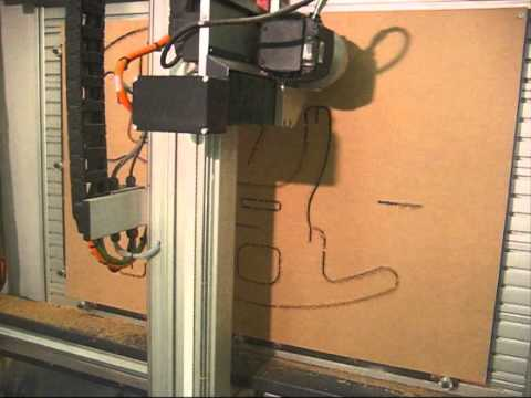 Denford Vertical Cnc Router Youtube