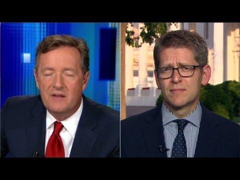 Piers Morgan interviews Jay Carney Pt. 1