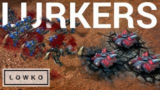 StarCraft 2: LURKERS vs Terran?!