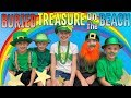 We Found a Real Pot of Gold on the Beach!! Family Fun Pack Skit