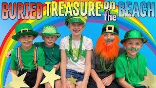 Skit: Kids Find Real Pot of Gold on the Beach!! Family Fun Pack