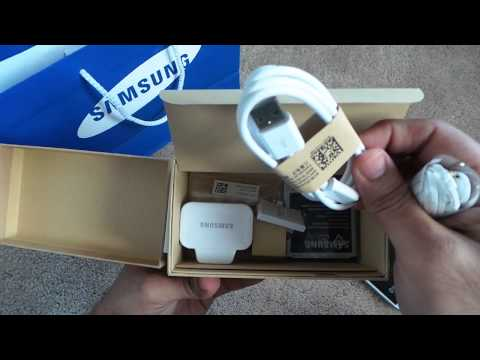 SAMSUNG GALAXY S4 I9505 UNBOXING