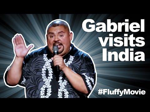 gabriel Visits India - The Fluffy Movie - Gabriel Iglesias video