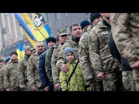 LIVE | Марш на честь захисників Дебальцівського плацдарму