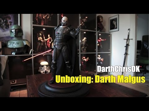 Unboxing: Darth Malgus (Regular) Premium Format (Sideshow Collectibles)